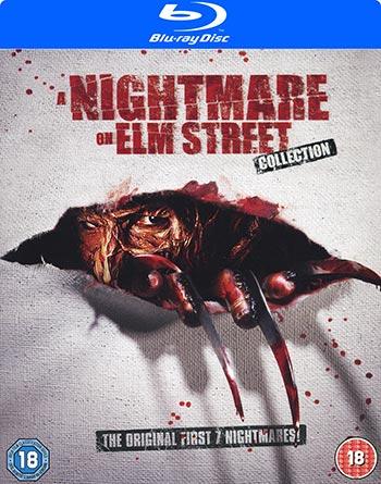 A nightmare on Elm Street 1-7 (Ej svensk text)