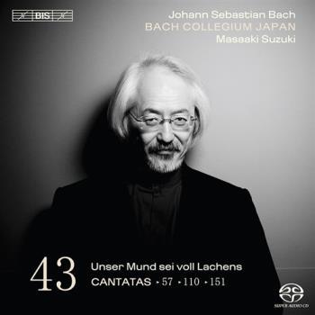 Bach: Cantatas Vol 43