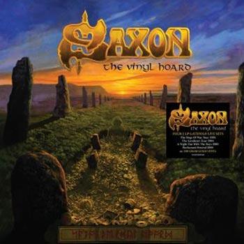 Saxon: Vinyl hoard - Live 1995-2006 (Gold)