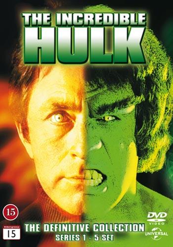 Incredible Hulk / Complete series 1-5 box