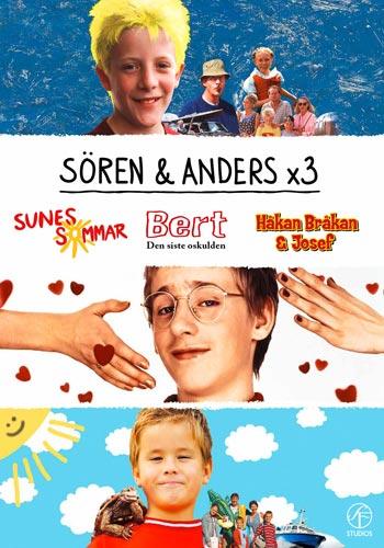 Sören & Anders / Box - Sune, Bert & Håkan Bråkan