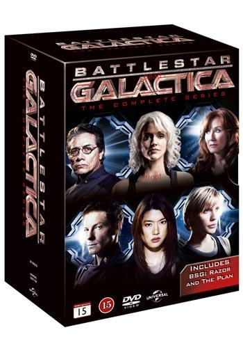 Battlestar Galactica / Complete series + Plan