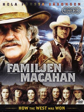 familjen macahan dvd box