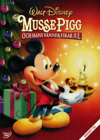 Musse Pigg och hans vänner firar jul