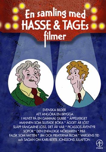 Hasse & Tage / En samling med filmer