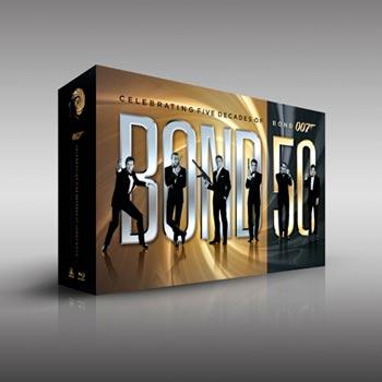 James Bond / 50th anniversary Blu-ray coll.