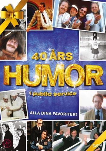 40 års humor i public service / Box - Nyutgåva