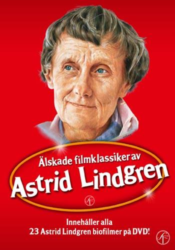 Astrid Lindgren / Boxen med alla filmer