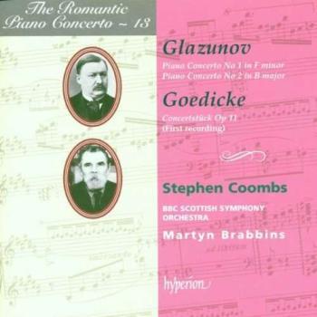 Glazunov: Romantic Piano Concertos 13