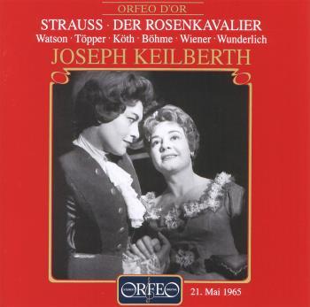 Strauss Der Rosenkavalier CD