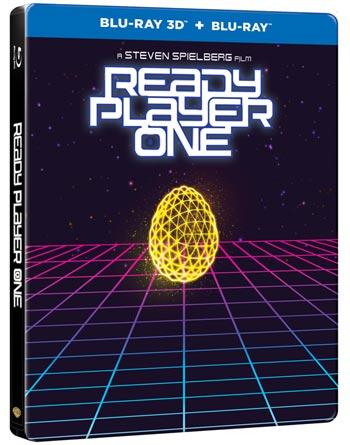 Ready player one 3D - Steelbook