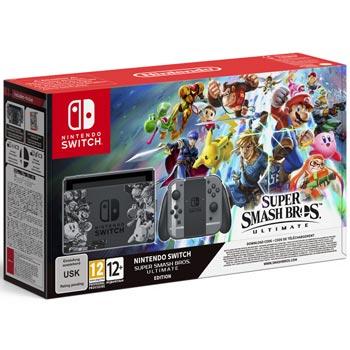 Nintendo Switch Basenhet - Smash Bros Ultimate