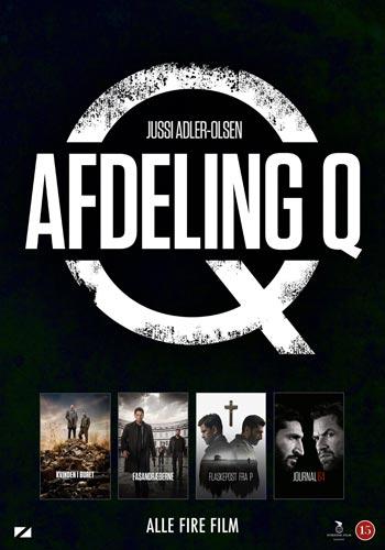 Avdelning Q boxen - 4 filmer