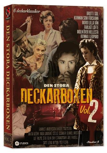 Den stora deckarboxen 2 - 6 filmer