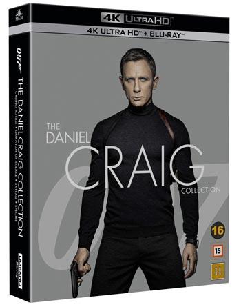 James Bond / Daniel Craig x 4