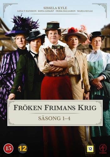 Fröken Frimans krig 1-4 Box