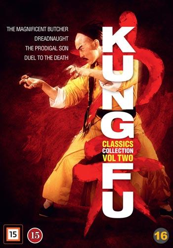 Kung-Fu classics vol 2 - 4 filmer