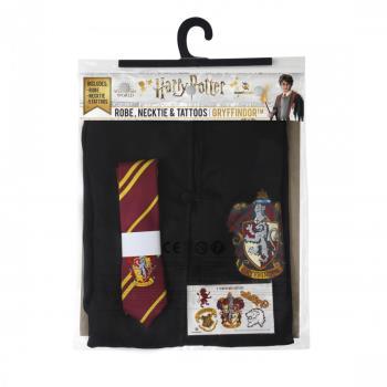 Harry Potter: Entry Robe, Necktie & Tattoos Gryffindor Small - EU