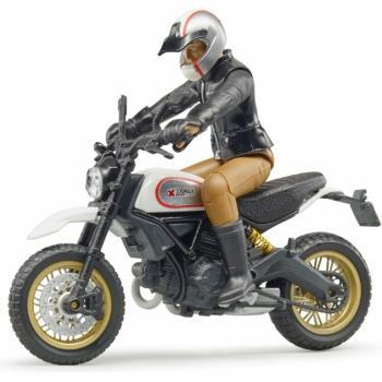 Bruder – Ducati Scrambler Desert Sled kuskilla (BR63051)