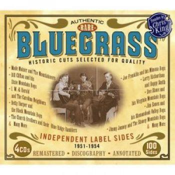 Rare Bluegrass Indie Label 1951-1954