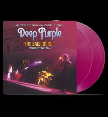 She Said Burn (Purple)