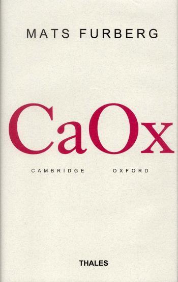 Caox - Språkanalytisk Filosofi I Cambridge Och Oxford Till 1970