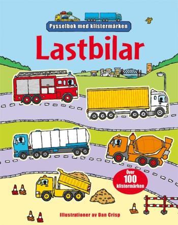 Lastbilar - Pysselbok Med Klistermärken