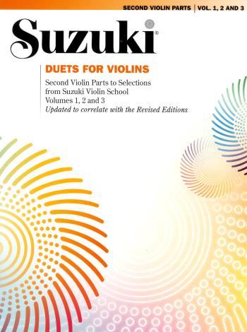 Suzuki Duets For Two Violins