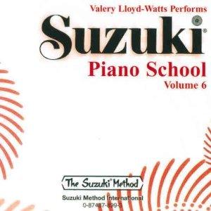 Suzuki Piano Lloyd-watts Cd 6