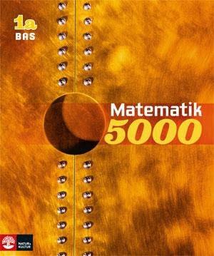 Matematik 5000 Kurs 1a Gul Lärobok Bas