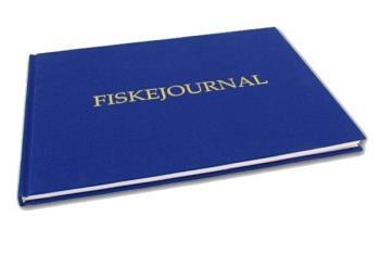 Fiskejournal Tyg (fiskedagbok)