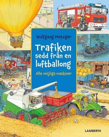Trafiken Sedd Från En Luftballong