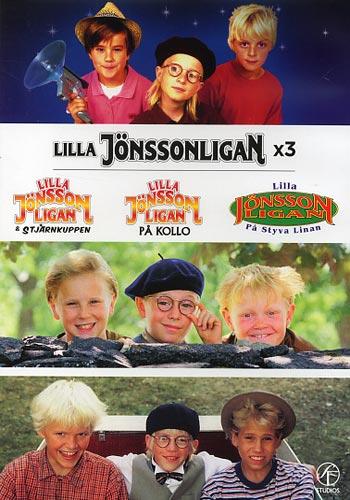 Lilla Jönssonligan x3