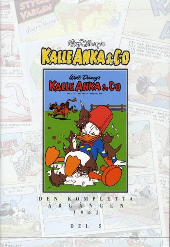 Kalle Anka & C-o. Den Kompletta Årgången 1962. D. 5
