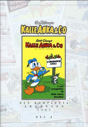 Kalle Anka & C-o. Den Kompletta Årgången 1963. D. 6