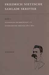 Samlade Skrifter. Bd 7, Otidsenliga Betraktelser - Efterlämnade Skrifter 1872-