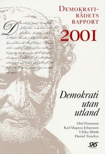 Demokrati Utan Utland Demokratirådets Rapport 2001
