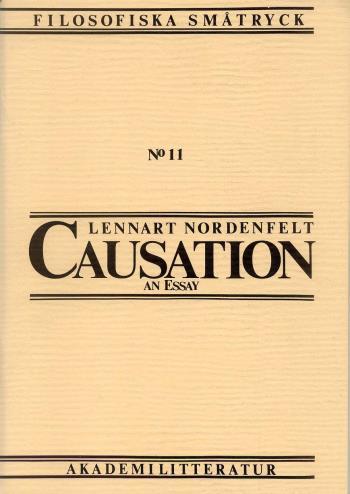 Causation - An Essay
