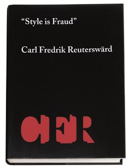 """""""style Is Fraud"""" - Carl Fredrik Reuterswärd"""