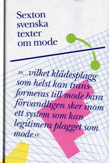 Sexton Svenska Texter Om Mode