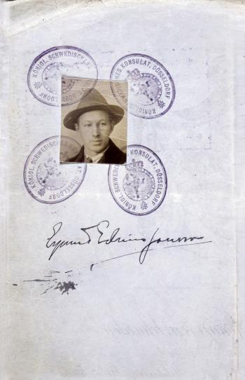 Resebrev 1921-1952