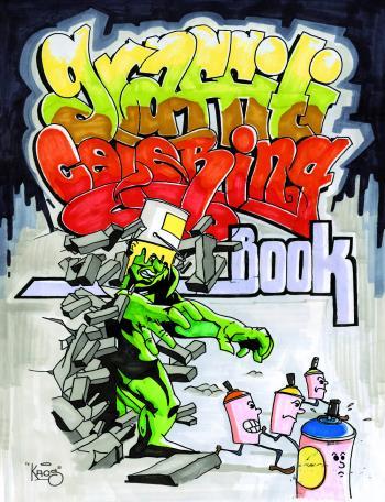 Graffiti Coloring Book
