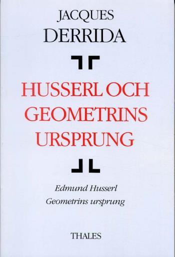Husserl Och Geometrins Ursprung