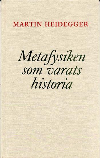 Metafysiken Som Varats Historia