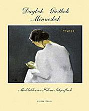 Dagbok - Gästbok - Minnesbok - Med Bilder Av Helene Schjerfbeck