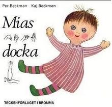 Mias Docka - Barnbok Med Tecken För Hörande Barn