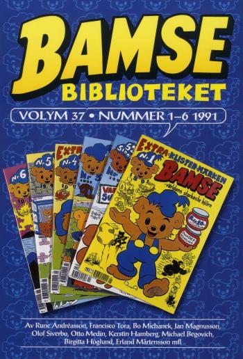 Bamsebiblioteket. Vol 37, Nummer 1-6 1991