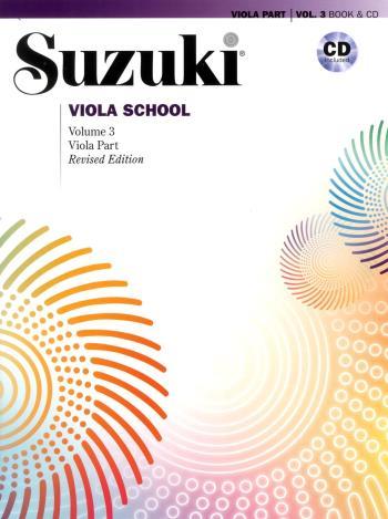 Suzuki Viola School 3 Bk/cd Kombo