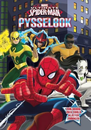 Marvel Spiderman Aktivitetsbog