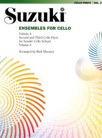 Suzuki Ensembles For Cello. Vol 4